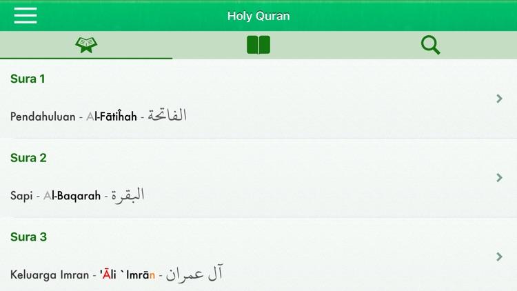 Al-Quran in Indonesian, Arabic screenshot-5