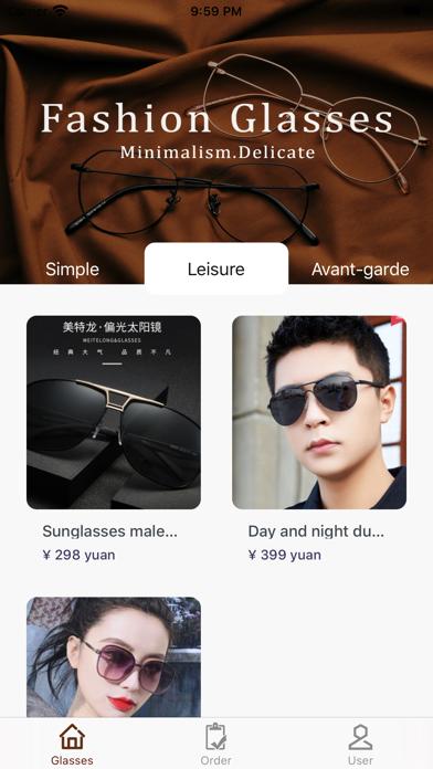 FashionGlasses screenshot 1
