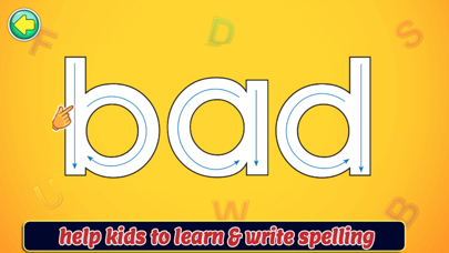 Spelling Writing Game screenshot 1