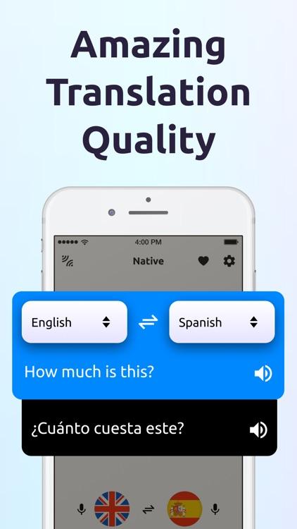 Translator: Translate Language screenshot-3