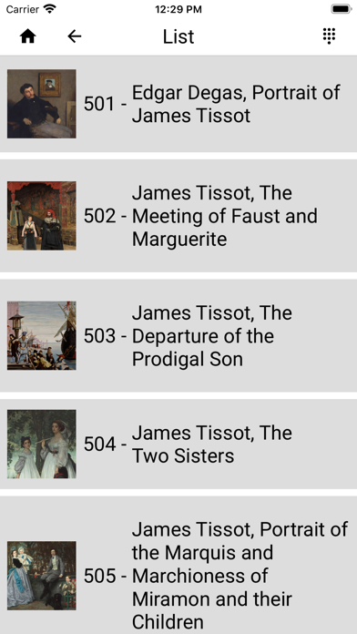 James Tissot screenshot 3