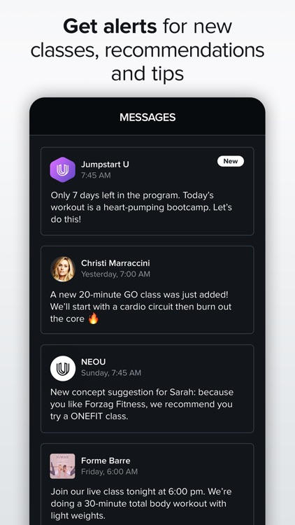 NEOU: Fitness & Exercise App screenshot-4