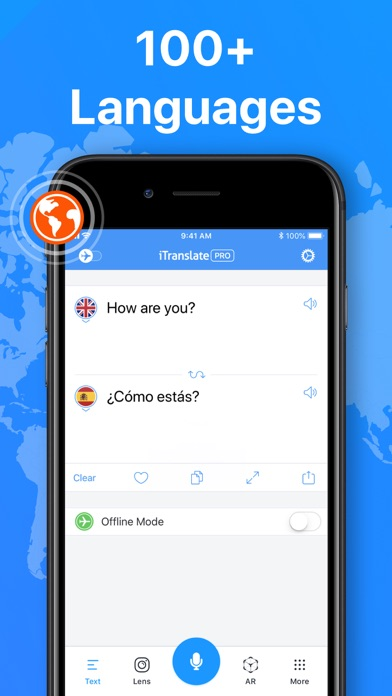 Translate App for Text & Voice screenshot one