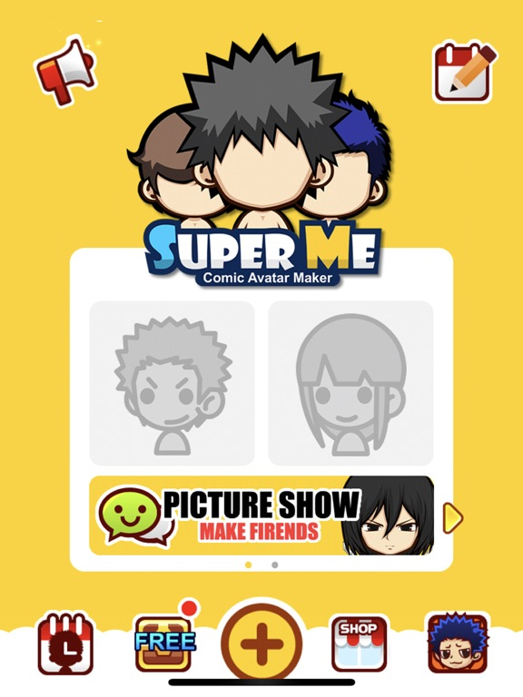 Screenshot #4 pour SuperMe-Cartoon Avatar Maker