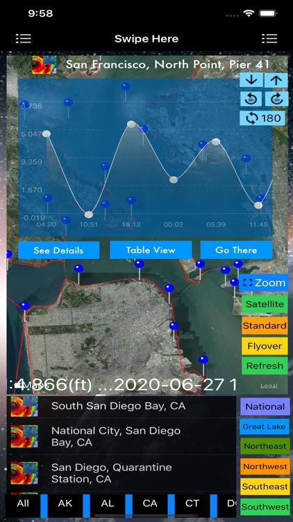 Instant NOAA Tide Pro screenshot-4