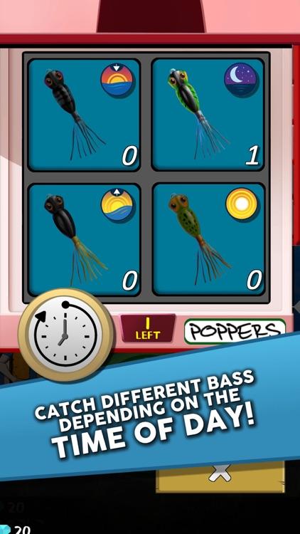 Poppin Bass Fishing Game screenshot-3