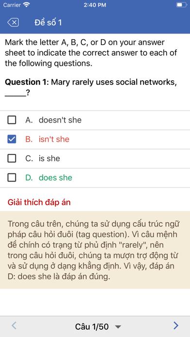 Ngữ pháp tiếng Anh - Thi THPT screenshot 5