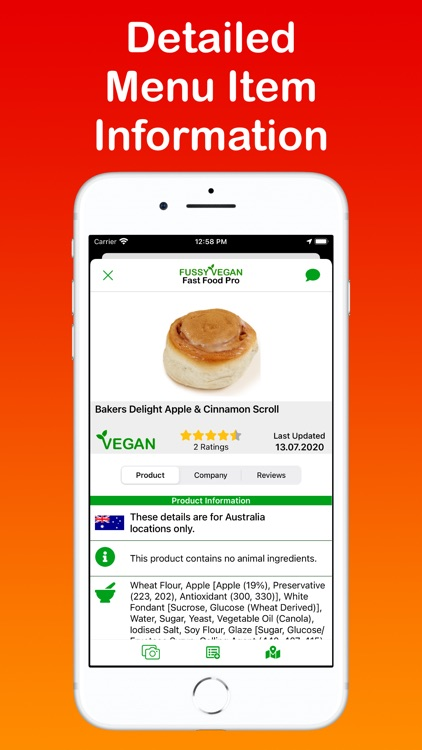 Fussy Vegan Fast Food Pro screenshot-1