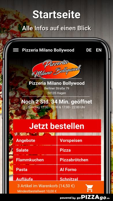 Milano Bollywood Hagen screenshot 2