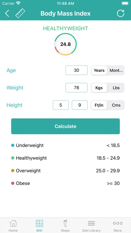 Calorie Counter - Daily Steps screenshot-4