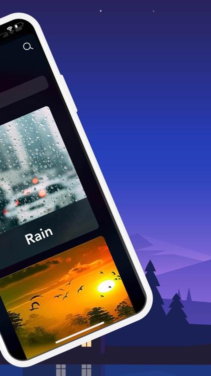 Sleep App: Rain Rain