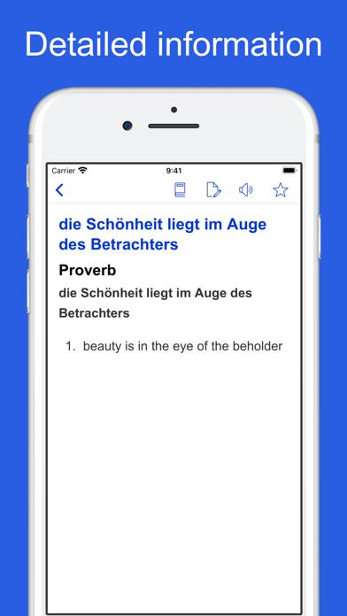 German Idioms, Proverbs screenshot 2