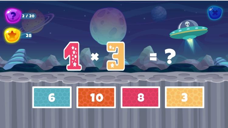 Fun Space Math Multiplication screenshot-6