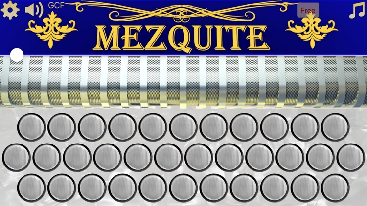 Mezquite Diatonic Accordion