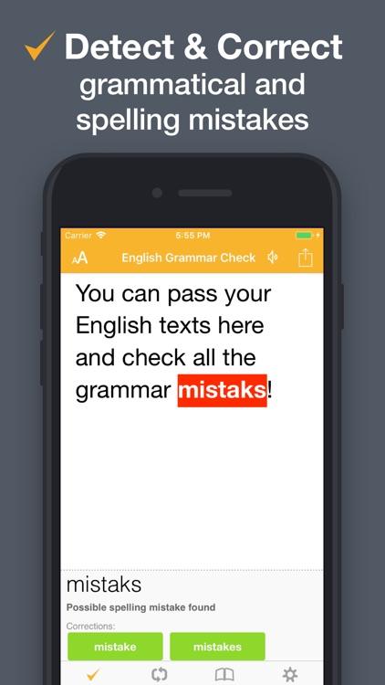 CorrectMe English Grammar help