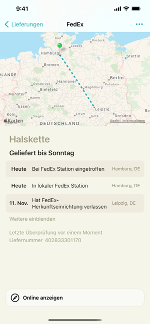 ‎Lieferungen (Deliveries) Screenshot