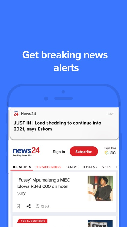 News24: Breaking News. First