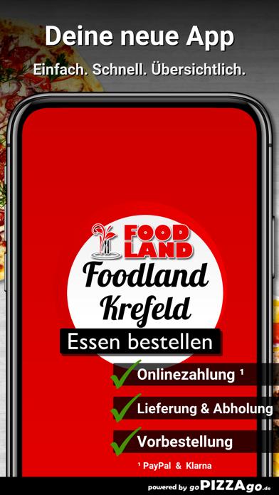 Foodland Krefeld screenshot 1