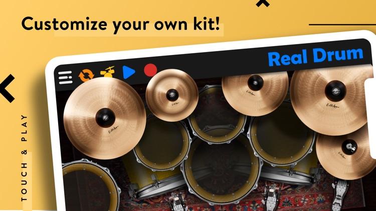 REAL DRUM: Electronic Drum Set screenshot-3