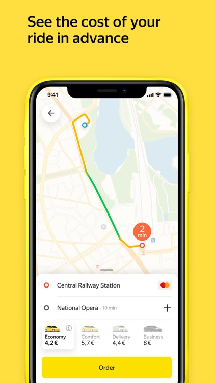 Yandex Go — taxi and delivery screenshot-0