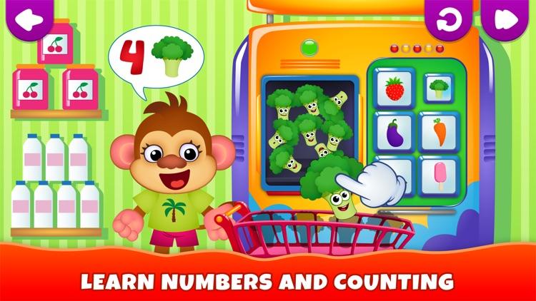 Kids Games! Learning 4 Toddler screenshot-5