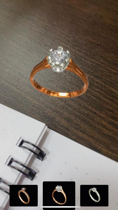 Jewelry Ring AR Screenshot