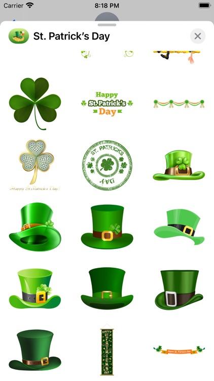 St. Patrick's Day Stickers screenshot-5