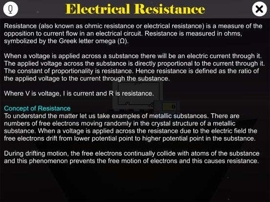 Electrical Resistance screenshot 8