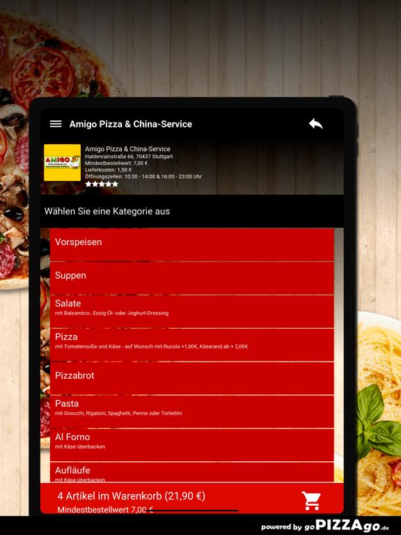 Amigo Pizza Stuttgart screenshot 8