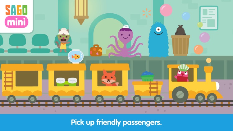 Sago Mini Train Adventure