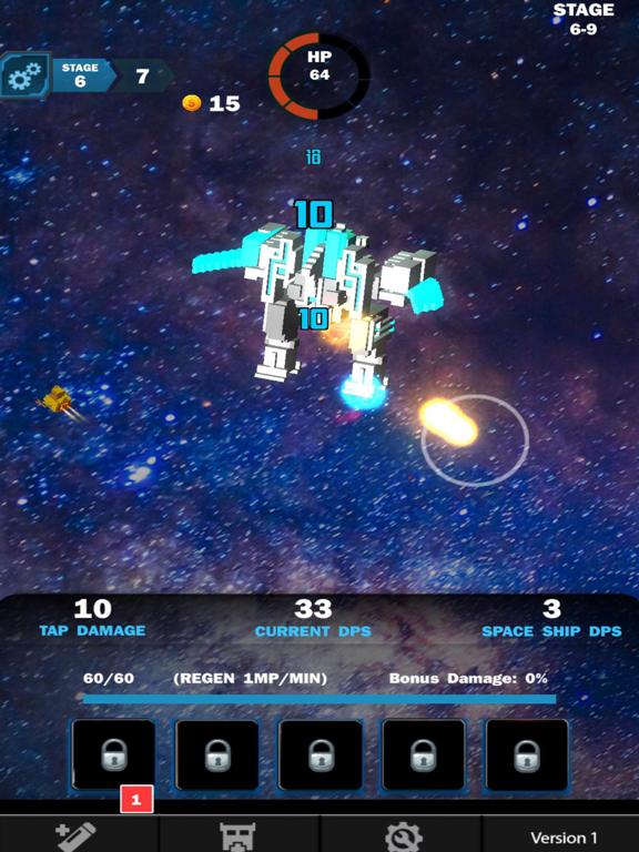 Idle Sci-Fi Battle screenshot 7