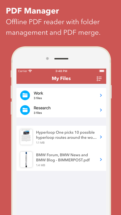 Web to PDF Converter & Reader iPhone