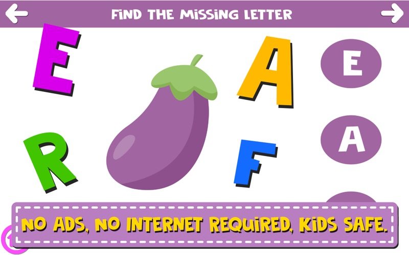 Finding The Missing Letter screenshot 4