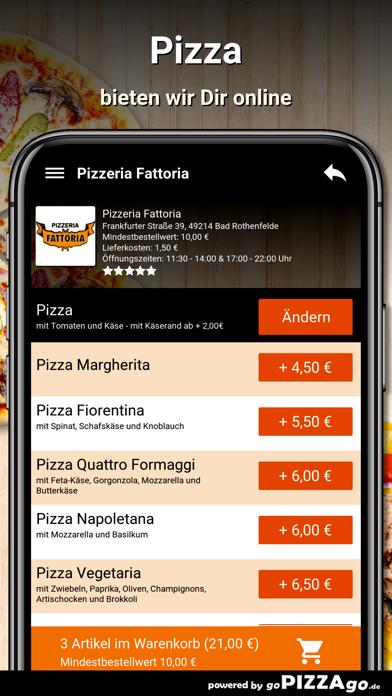 Pizzeria Fattoria Bad screenshot 5