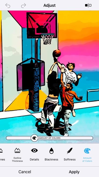 Clip2Comic Cartoon & Comic App screenshot-5