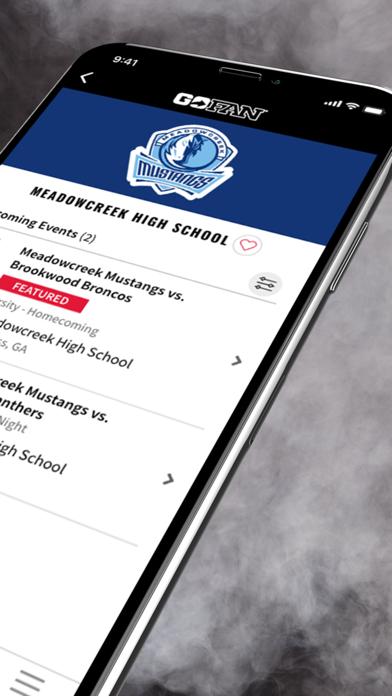 GoFan – High School Tickets Screenshot on iOS