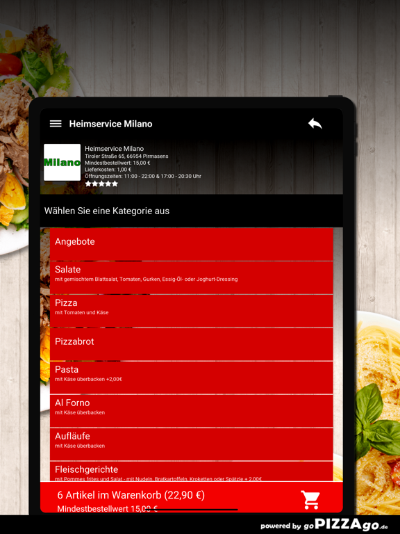 Heimservice Milano Pirmasens screenshot 8