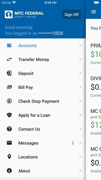 MTC Federal Mobile Banking screenshot-3