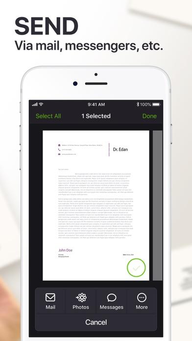 Scanner: PDF Docs & QR Code Screenshot