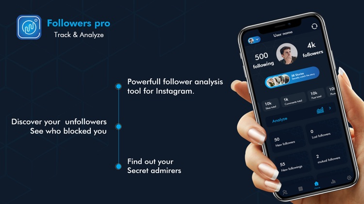 Followers Pro: Analyze & Track