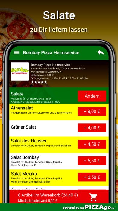 Bombay Pizza Kornwestheim screenshot 5