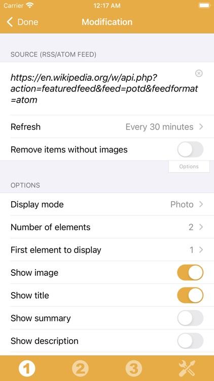 RSS Widget screenshot-8
