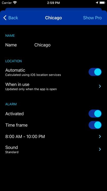 Rain Alarm Live Weather Radar screenshot-5