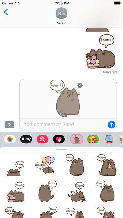 Download Cat Kun Stickers for iMessage for Android
