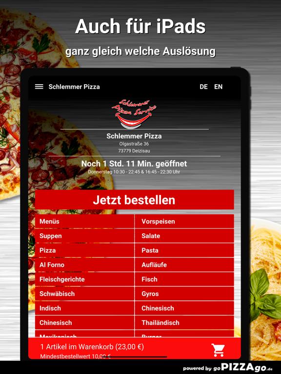 Schlemmer Pizza Deizisau screenshot 7