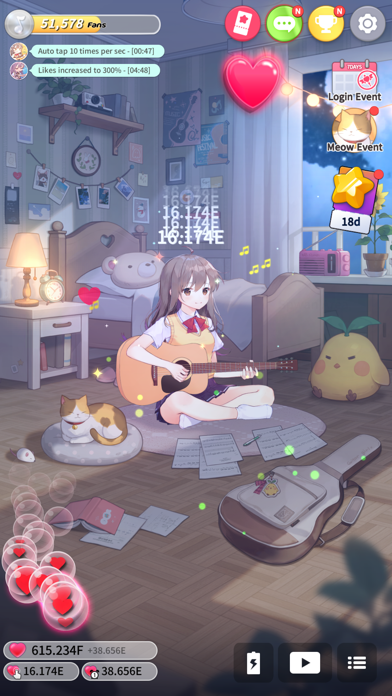 Guitar Girl:Relaxing MusicGame screenshot 2
