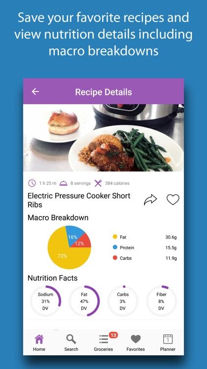 Instant Cooker Recipes screenshot-3