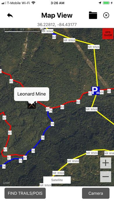New River ATV Trails Screenshot