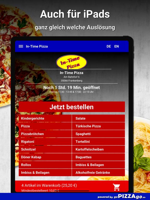 In-Time Pizza Frankenberg screenshot 8