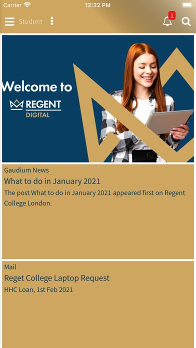 Regent Digital screenshot 1